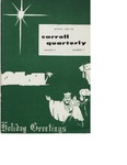 The Carroll Quarterly, vol. 9, no. 2 by John Carroll University