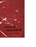 The Carroll Quarterly, vol. 12, no. 4