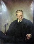 G. K. Chesterton Portrait by Edwin Swan