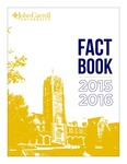 Fact Book, 2015-16 by John Carroll University