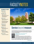 Faculty Notes by John Carroll University