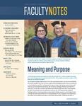 Faculty Notes by John Carroll University