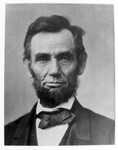Draft Order from the American Civil War, Detail C, Lincoln Portrait