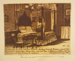 Bedroom in the Wills House, Gettysburg by Bernhardt Wall
