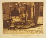 Bedroom in the Wills House, Gettysburg
