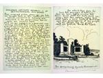 """Gettysburg Address"" Etchings with Memorial"