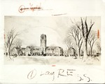 Architect's drawing of the new John Carroll University